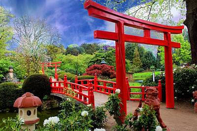 Beautiful Zen Garden Poster