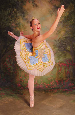 Beauty The Ballerina Poster by ARTography by Pamela Smale Williams