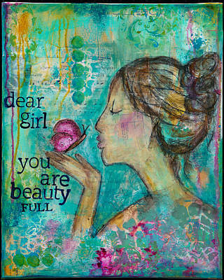 Beautyfull Poster by Kirsten Reed