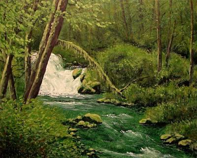 Beaver Creek Falls Poster