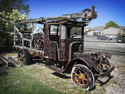 Beaverhead County Truck - Montana Poster