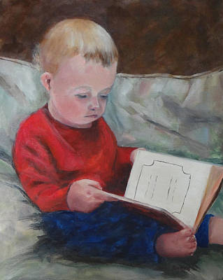 Bedtime Story Poster by Carol Berning