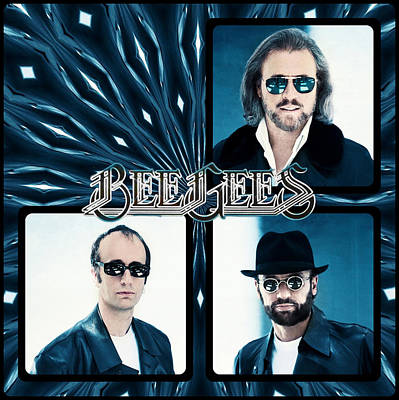 Bee Gees I Poster by Sylvia Thornton