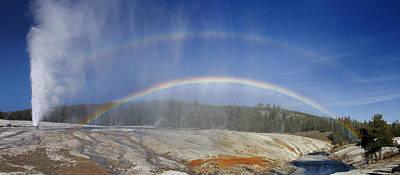 Beehive's Double  Rainbow Poster