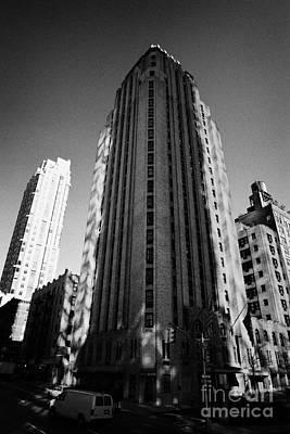 Beekman Tower Hotel 1st Avenue New York City Poster by Joe Fox