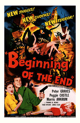 Beginning Of The End 1957 Poster