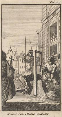 Beheading Of Masaniello, 1647, Caspar Luyken Poster by Caspar Luyken And Boudewijn Van Der Aa