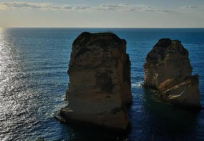 Beirut Pigeon Rocks Poster