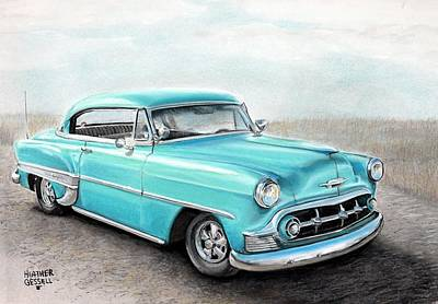 Bel Air Poster by Heather Gessell