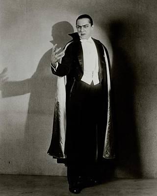 Bela Lugosi As Dracula Poster by Florence Vandamm