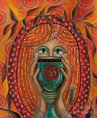 OM Poster by Deborha Kerr