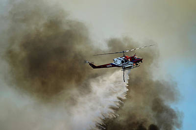 Bell Helicopter 212 Poster