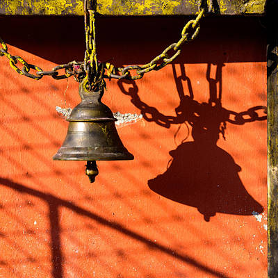 Bell In A Budddhist Temple Poster