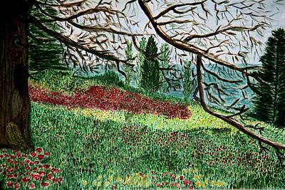 Bella Vista. Poster by Shlomo Zangilevitch