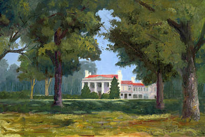Belle Meade Mansion Nashville Tennessee Poster by Tommy Thompson