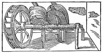 Bellows Operated By A Camshaft Poster by Universal History Archive/uig