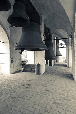 Bells In The Rostov Kremlin Bell Tower Poster