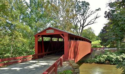 Bells Mills Covered Bridge Poster
