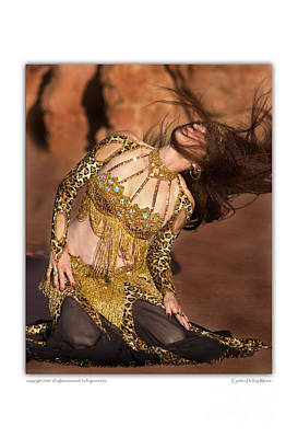 Belly Dancer Mahisha Doing Zar Dance Poster