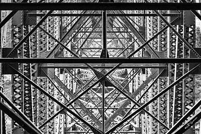 Below The Bridge Poster by Jeff Swanson