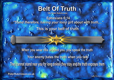 Belt Of Truth Poster