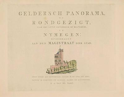 Belvdre Nijmegen, Derk Anthony Van De Wart Poster by Derk Anthony Van De Wart