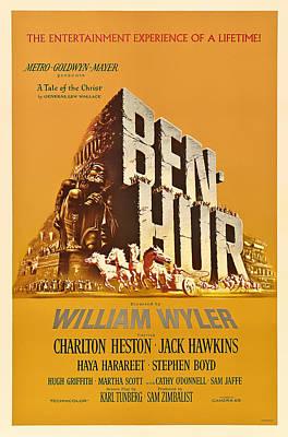 Ben Hur Movie Poster Poster by Mountain Dreams
