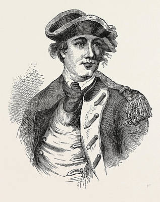 Benedict Arnold Was A General During The American Poster by English School