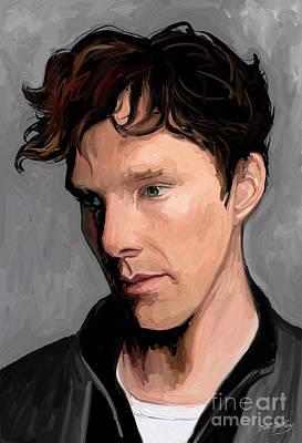 Benedict Cumberbatch Poster by Dori Hartley