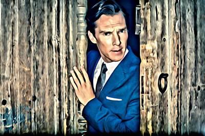 Benedict Cumberbatch Poster by Florian Rodarte