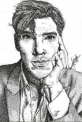 Benedict Cumberbatch - The Man Out Of Time Poster by Khat de Guzman