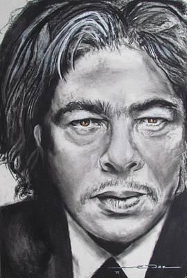 Benicio Del Toro Poster by Eric Dee