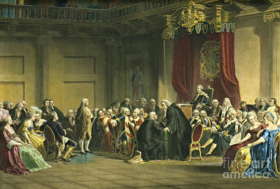 Benjamin Franklin 1868 Poster by Padre Art