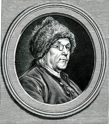 Benjamin Franklin Poster by Collection Abecasis