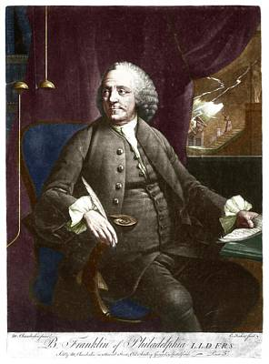 Benjamin Franklin Poster by Science Photo Library