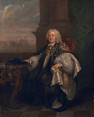 Benjamin Hoadly, Bishop Of Winchester Poster by William Hogarth