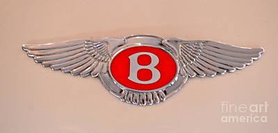 Bentley Emblem Poster by Pamela Walrath