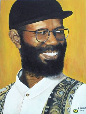 Beres Hammond - Music Is Life Poster by Kenneth Harris