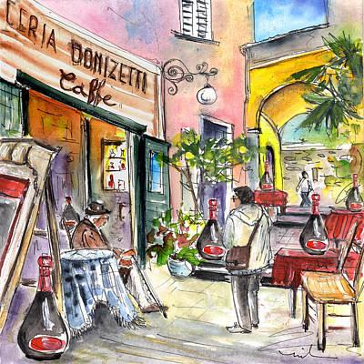 Bergamo Upper Town 01 Poster by Miki De Goodaboom