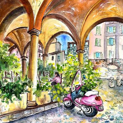 Bergamo Upper Town 02 Poster by Miki De Goodaboom