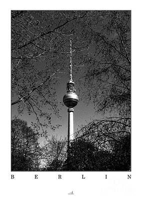 Berlin - Spring Poster by ARTSHOT  - Photographic Art