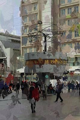 Berlin Alexanderplatz Poster by Steve K