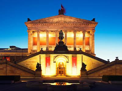 Berlin Alte Nationalgalerie Poster by Alexander Voss