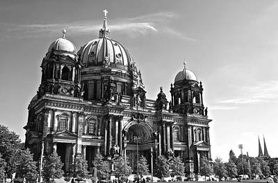 Berlin Cathedral Poster by Galexa Ch