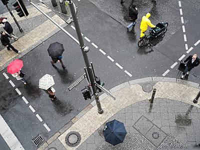 Berlin - Friederichstrasse Poster by Osvaldo Hamer