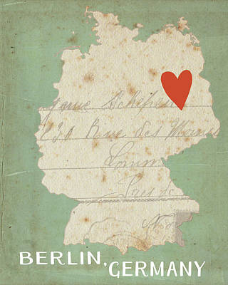 Berlin Poster by Katie Doucette