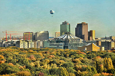 Berlin / Potsdamer Platz / Autumn Poster by Gynt
