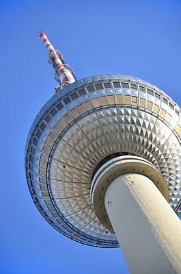 Berlin Tv Tower - Fernsehturm Berlin Poster by Gynt