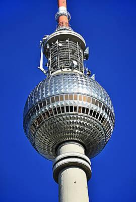 Berlin Tv Tower - Fernsehturm Poster by Gynt