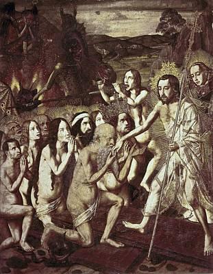 Bermejo, Bartolom� 1420-1498. Descent Poster